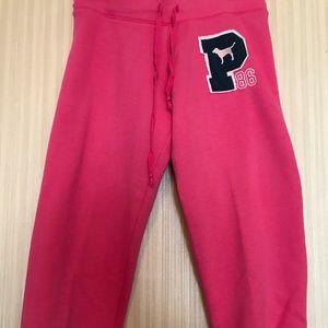 Victoria's Secret Pink My Favorite Sweats Capris M